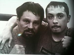 Frankie and Roberto Duran