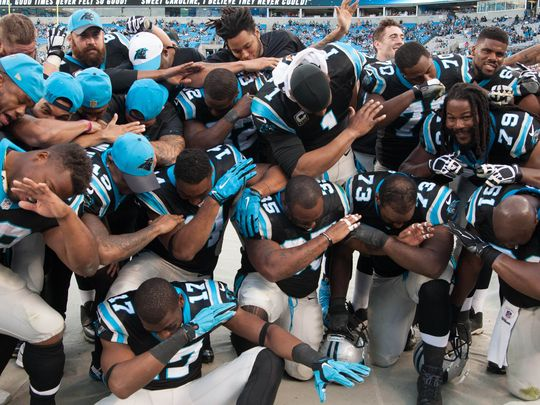 panthers dabbing