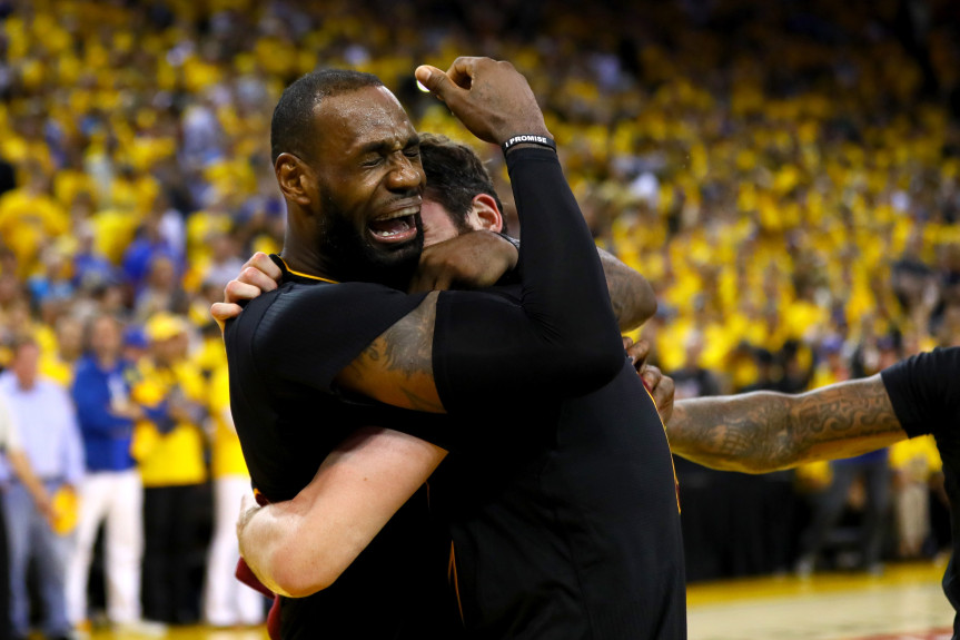 2016 NBA Finals - Game Seven