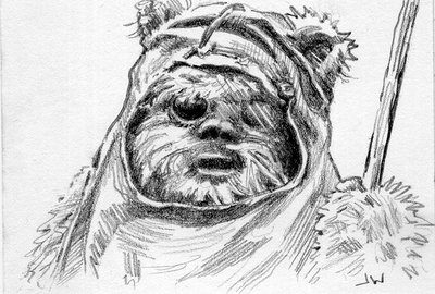 ewok_wicket_sketch_card_by_stungeon-d8yfv5x